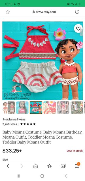Baby Moana for Sale in Upland, CA
