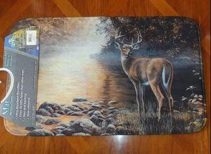 Large Buck Deer at River's Edge Memory Foam Mat - Brand New!! for Sale in Auburn, WA