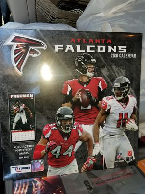 Falcons 2018 calendar for Sale in NC, US
