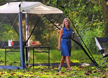 (Tent) Outdoor Equipment (Ozark Trail) - Instant Screen House $100 OBO for Sale in Scottsdale, AZ
