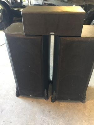 Polk audio home theater system speakers for Sale in Madera, CA