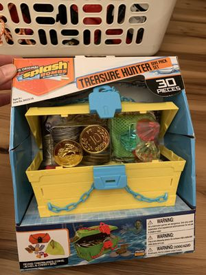 30 pieces of treasure hunter diving games for kids pool party summer toy beach for Sale in Painesville, OH