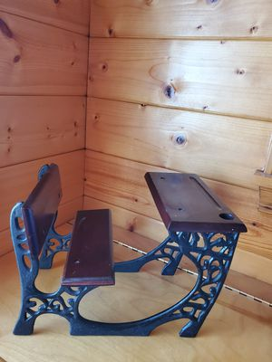 Vintage Antique Collector's Doll Size School Desk for Sale in Lacey, WA