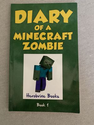 DIARY of a Minecraft zombie for Sale in Ellicott City, MD