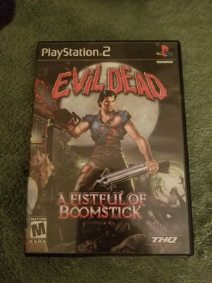 Ps2 evil dead for Sale in Brooklyn Park, MD