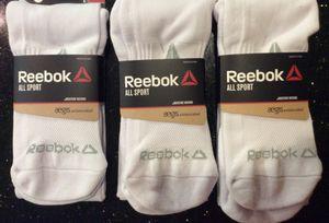 New Reebok White All Sport Socks Large 8-13 for Sale in Melrose, MA