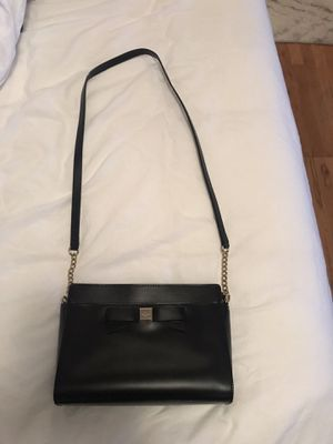 Kate Spade black leather purse for Sale in Portland, OR