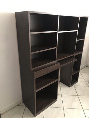 Computer Desk Bookshelf for Sale in Hialeah, FL