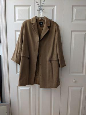 Calvin Klein beige coat for Sale in MONTGOMRY VLG, MD