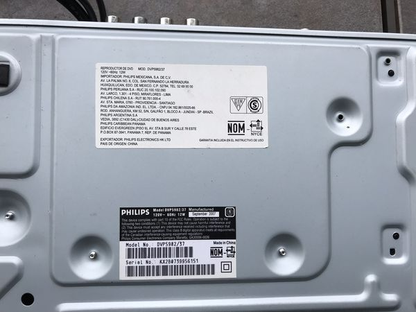 SONY -DVD/CD Player w/blue Ray