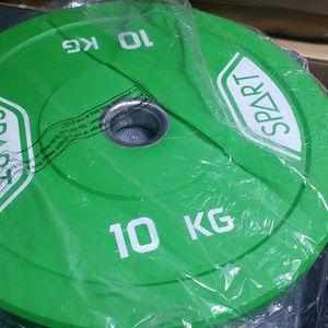 Olympic Rubber Bumper Plates - 10kg /22lbs for Sale in St. Petersburg, FL