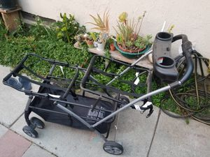 Snap and Go baby trend Double stroller frame for Sale in San Jose, CA