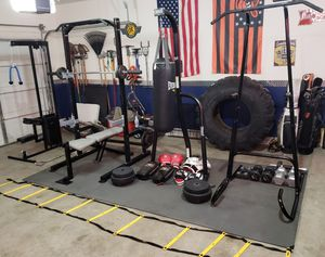 Home gym equipment- Everything included for Sale in Phoenix, AZ