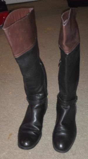 Black/Brown High Boots for Sale in Carrollton, TX