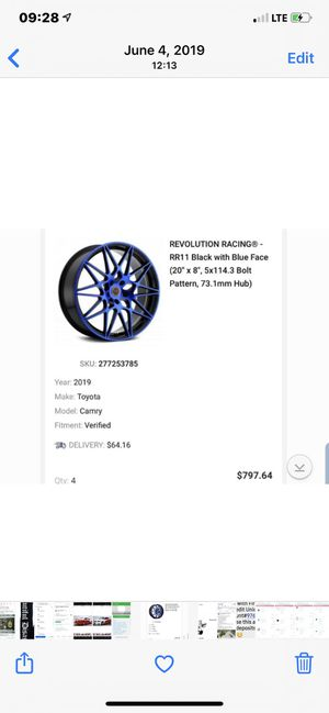 Revolution Racing rims and bullet lugs for Sale in Socorro, TX
