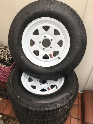 Trailer wheels and tires for Sale in Corona, CA