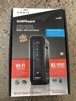 ARRIS Surfboard Cable Modem & WiFi Router for Sale in Phoenix, AZ
