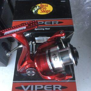 Bass Pro Viper VR20c Fishing Reel for Sale in Covina, CA