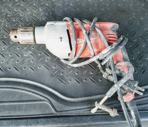 Milwaukee hammer drill used for Sale in Jersey City, NJ