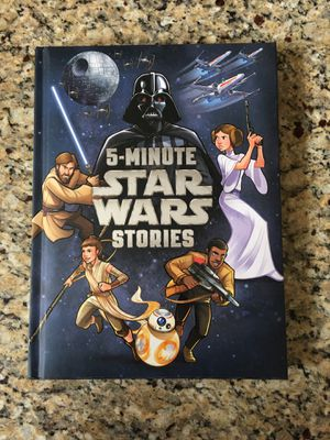 5 minute Star Wars stories. Excellent condition. Asking $4. Super gift for the kids!! for Sale in Litchfield Park, AZ