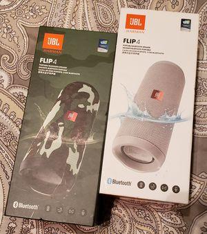 JBL Flip 4 Waterproof Bluetooth Speaker(3 available) for Sale in Tampa, FL