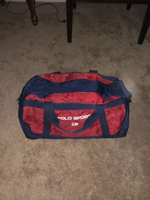 polo sport duffle bag for Sale in Las Vegas, NV