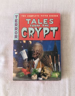 Brand New Tales from the Crypt Season 5 Terror Tales 2 DVDs Movie Set for Sale in El Cajon, CA