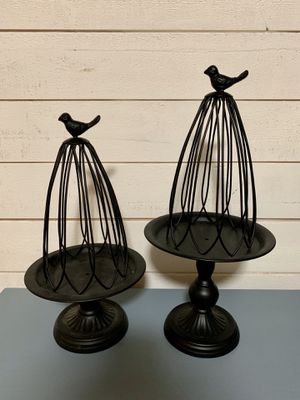 Bird cage candle or plant holders for Sale in Federal Way, WA