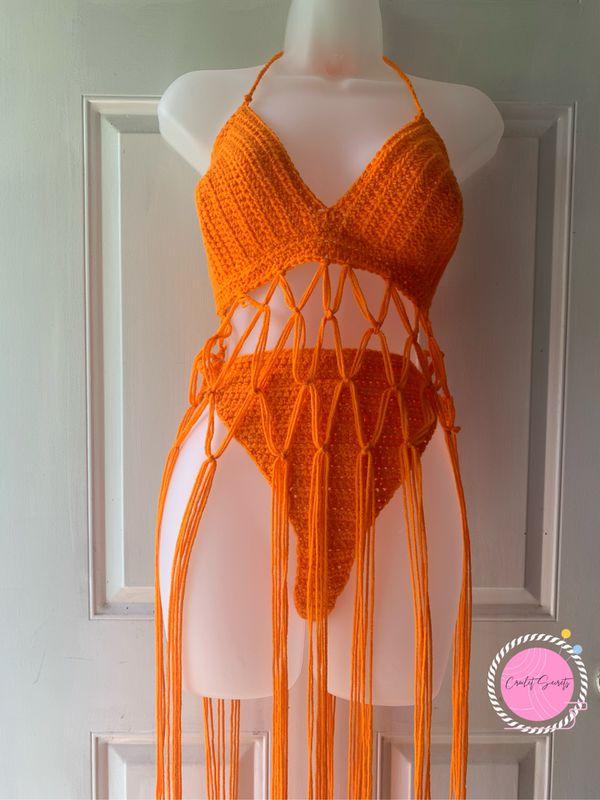 Crochet Fringe Set