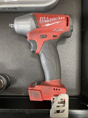 M18 FUEL 18-Volt Lithium-Ion Brushless Cordless 3/8 in. Compact Impact Wrench with Friction Ring for Sale in Clovis, CA