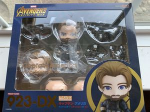 Nendoroid 923-DX Infinity War Captain America for Sale in Clovis, CA