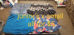 Juniors x-small skirts for Sale in Clermont, FL
