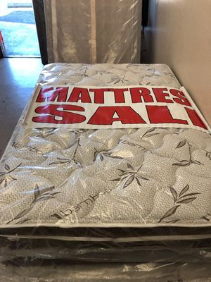 Quenn mattress with boxspring for Sale in Pomona, CA