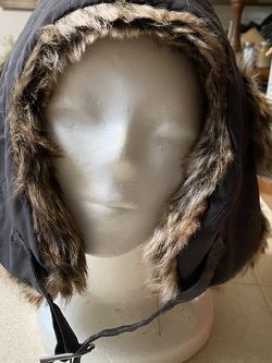 Going To The Snow ? H&M Brand Fur Lined Nylon Hat for Sale in Fresno,  CA