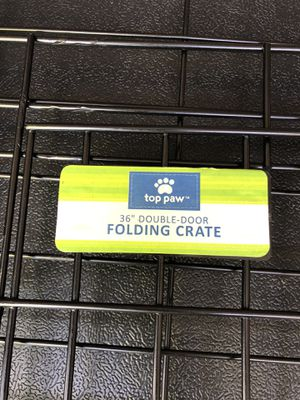 """36"""" Folding Dog Crate for Sale in Hanover, NJ"""