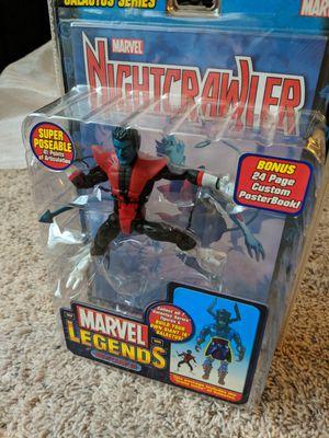 Marvel legends toy biz Nightcrawler rare for Sale in Houston, TX