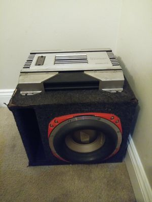 """10"""" Orion HCCA class sub w/amp for Sale in Hialeah, FL"""