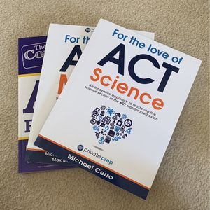 ACT Books- Complete Package! for Sale in Falls Church, VA
