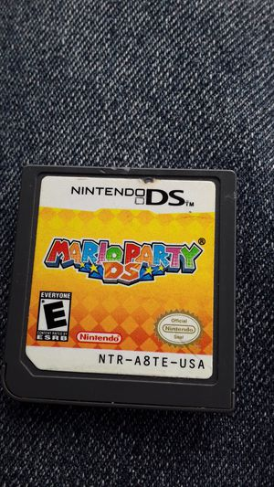 Mario Party Ds Cartridge only for Sale in San Bernardino, CA