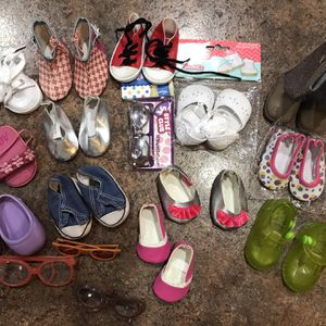 Shoes That Will Fit American Girl Dolls for Sale in Gig Harbor, WA