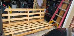 Futon frame wooden for Sale in Canonsburg, PA