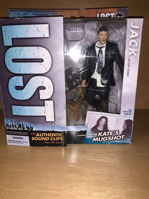 ABC's Lost Jack Shepard Collectibles Action Figure for Sale in Davie, FL