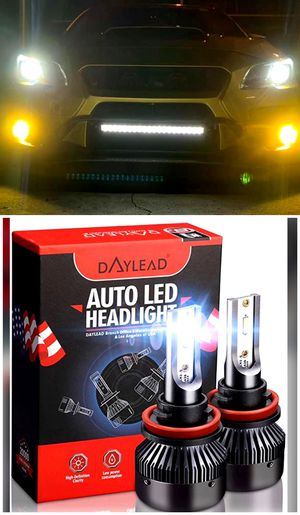 9003/9004/9005/9006/9007/9012 Super bright led headlights/fog lights for any car $25 for Sale in South El Monte, CA