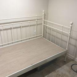 White IKEA Day Bed Twin for Sale in Cedar Grove,  NJ