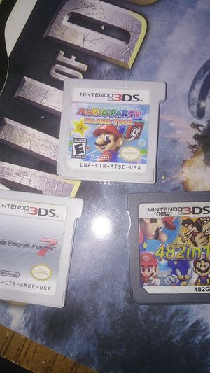 Nintendo mario 3ds games for Sale in Phoenix, AZ