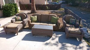 Sturdy and comfy outdoor furniture; light brown for Sale in La Mesa, CA