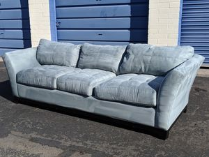 NEW XL MICROSUEDE Sofa delivery available for Sale in Mesa, AZ