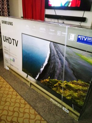 SAMSUNG 75IN SMART TV / 4K ULTRA HD/ 7 SERIES 2019/ PRICE IS FIRM/PRECIO FIRME for Sale in Grand Prairie, TX