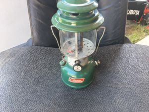 Coleman lantern vintage antique Pyrex globe for Sale in Sacramento, CA