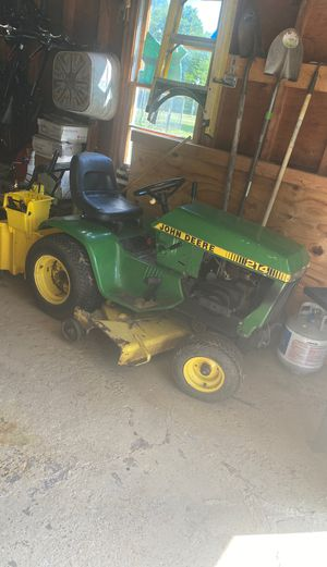 Lawn tractor and Snow blower for Sale in Staten Island, NY